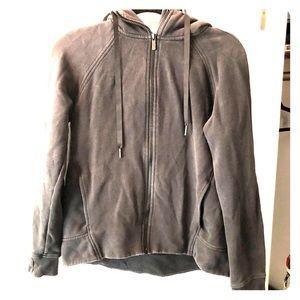 Faded Lululemon zip up hoodie
